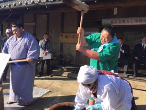 12/15(土)開催・もちつき祭紹介①