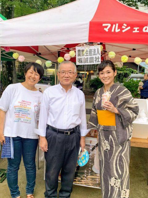 地域のお祭り「街中賑わいフェスティバル」に参加しました