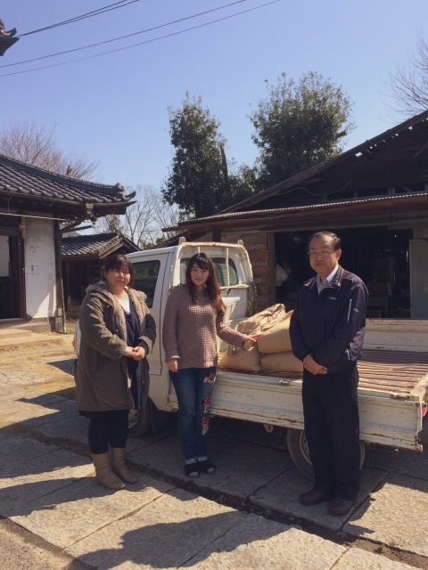 加須市内のフードパントリーに古米を寄付しました