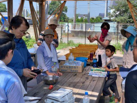 9月5日の自然栽培の会 冬野菜コース初日