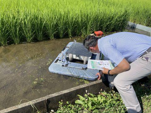 東京農工大 大学院農学研究院の大川教授を訪ねました