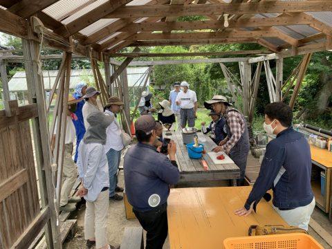 8月21日の自然栽培の会について